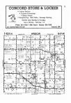 Dodge County Map Image 002, Steele and Dodge Counties 1985